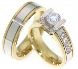 Luxe en unieke trouwringen met prachtige diamanten.