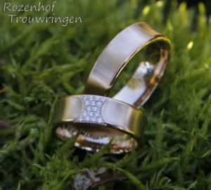 Bijzondere trouwringen met schitterende diamanten