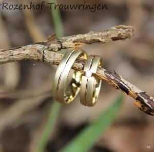 Klassieke trouwringen bij Rozenhof Trouwringen