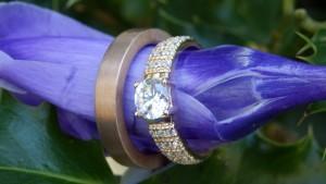 Luxe trouwringen met diamanten