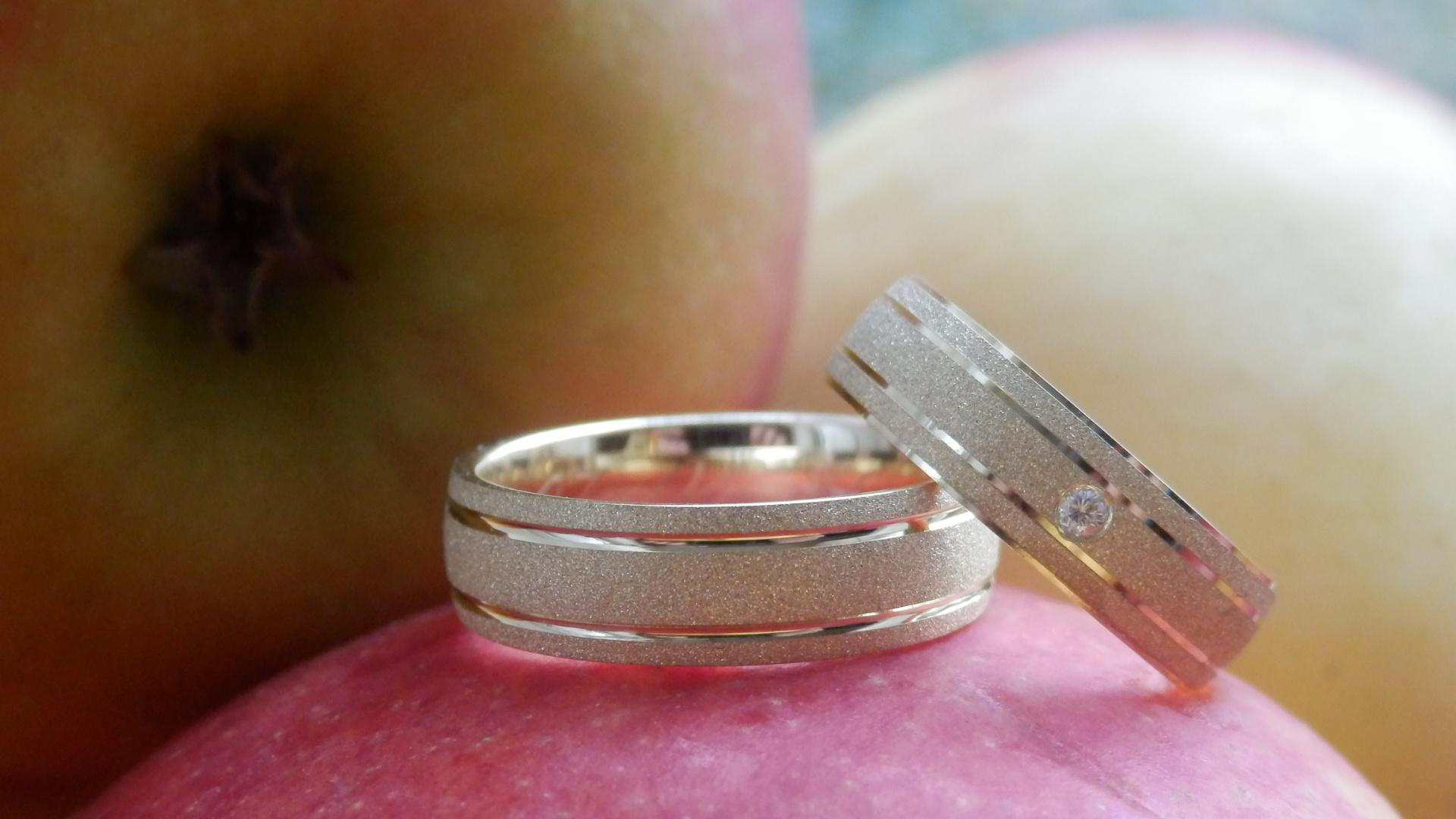 Stijlvolle trouwringen