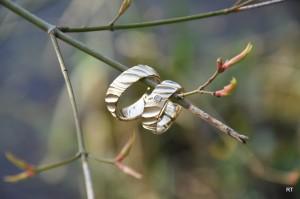 Robuuste, geelgouden trouwringen