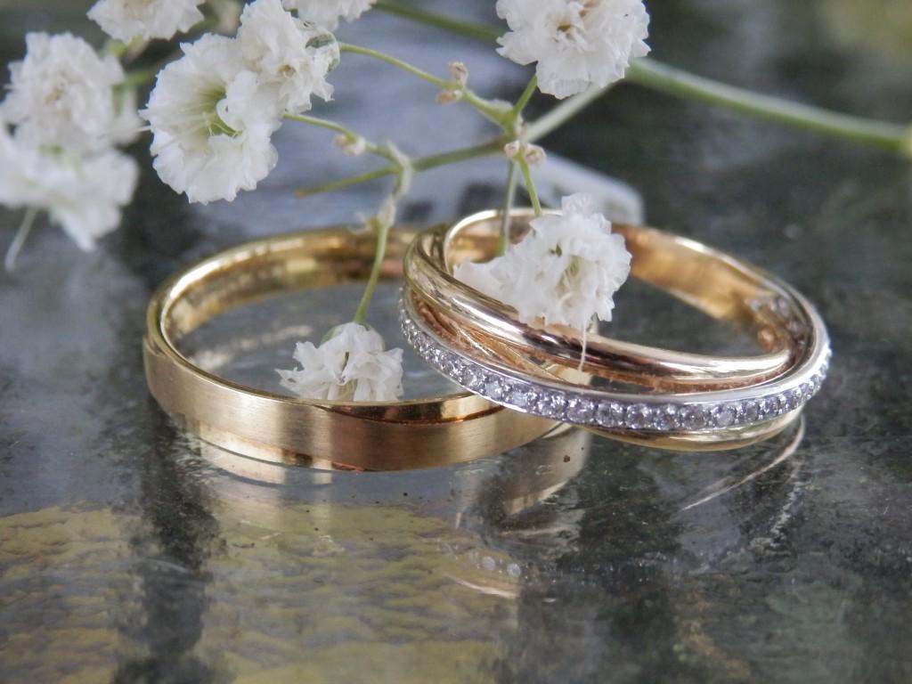 Diamanten trouwringen